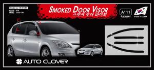 Kia Ceed 2007-2010 - (Wagon) Дефлекторы окон (ветровики), комлект. (Clover) фото, цена