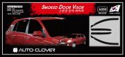 Kia Rio 2005-2010 - (5DR) - Дефлекторы окон (ветровики) к-т 4 шт. (Clover) фото, цена