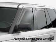 Land Rover Freelander 2001-2007 - Дефлекторы окон (ветровики), комплект 4шт, светлые. (WeatherTech) фото, цена