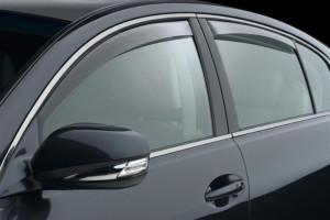Lexus GS 2006-2012 - Дефлекторы окон (ветровики), комплект 4шт, светлые. (Clim Air) фото, цена