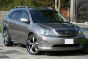 Lexus RX 2003-2008 - Дефлекторы окон (ветровики), комлект, широкие. (China) фото, цена