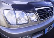 Lexus LX 1998-2007 - Защита передних фар, прозрачная. (Airplex) фото, цена