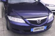 Mazda 6 2002-2008 - Защита передних фар, прозрачная. (Airplex) фото, цена