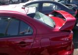 Защита передних фар Mitsubishi lancer x