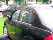 Nissan Tiida 2006-2012 - (Sedan) Дефлекторы окон (ветровики), комлект. (China) фото, цена