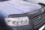 Subaru Forester 2005-2007 - Защита передних фар, прозрачная. (Airplex) фото, цена