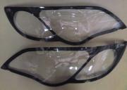 Subaru Outback 2004-2009 - Защита фар, прозрачная, с черной окантовкой. (EGR) фото, цена