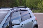 Suzuki SX4 2007-2014 - (H/B) Дефлекторы окон (ветровики), комлект. (Cobra Tuning) фото, цена