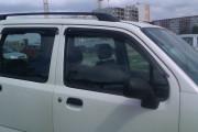Suzuki Wagon R+ 1997-2006 - Дефлекторы окон (ветровики), комлект. (Cobra Tuning) фото, цена