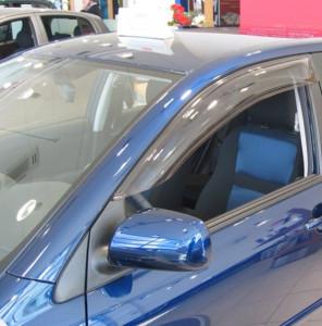 Toyota Avensis 2003-2008 - Дефлекторы окон (ветровики), передние, светлые. (EGR) фото, цена