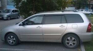 Toyota Corolla 2001-2006 - (Wagon) - Дефлекторы окон (ветровики), комлект. (Cobra Tuning) фото, цена