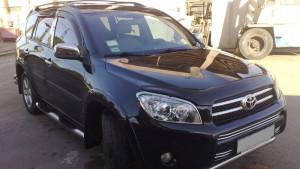 Toyota Rav 4 2006-2012 - LONG Дефлекторы окон (ветровики), комплект. (EGR) фото, цена