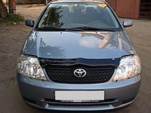 Toyota Corolla 2004-2006 - Защита передних фар, прозрачная. (EGR)  фото, цена