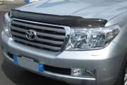 Toyota Land Cruiser 2008-2011 - Защита передних фар, прозрачная. (Airplex)  фото, цена