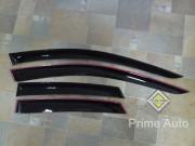 Porsche Cayenne 2011-2014 - Дефлекторы окон (ветровики), комлект. (Cobra Tuning) фото, цена