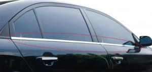 Kia Sorento 2003-2014 - Хромированная накладка на молдинг окна (Clover) фото, цена