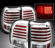 Lexus LX 1998-2007 - Хромированные накладки на задние фонари (USA) фото, цена