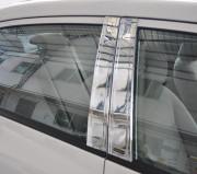 Lexus LX 1998-2007 - Хромированные накладки на  стойки (USA) фото, цена
