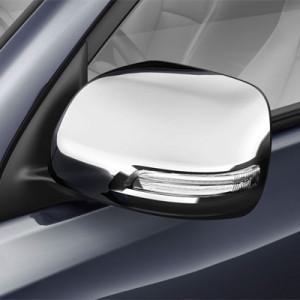 Mitsubishi Pajero 2006-2015 - Титановые накладки на зеркала, (EGR) фото, цена