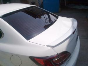 Mazda 6 2008-2011 - Спойлер на заднее стекло, под покраску (UA)  фото, цена