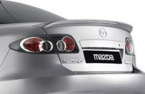 Mazda 6 2008-2013 - Лип спойлер на крышку багажника с стоп сигналом (TAW) фото, цена