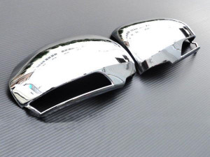 Toyota Corolla 2002-2009 - Хромированные накладки на зеркала с поворотниками. (Wellstar) фото, цена