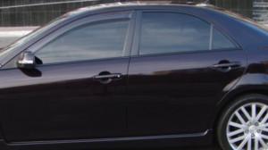 Mazda 6 2008-2012 - Дефлекторы окон  передние, дымчатые,  к-т 2 шт. (EGR) фото, цена