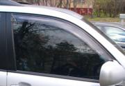 Toyota Land Cruiser Prado 2003-2008 - Дефлекторы окон  передние, дымчатые,  к-т 2 шт. (EGR) фото, цена