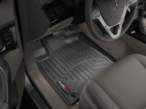 Acura MDX 2007-2013 - Коврики резиновые с бортиком, передние, черные. (WeatherTech) фото, цена