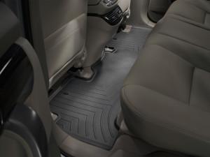 Acura MDX 2007-2013 - Коврики резиновые с бортиком, задние, черные. (WeatherTech) фото, цена
