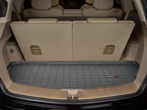 Acura MDX 2007-2013 - Коврик резиновый в багажник, 7 мест, черный. (WeatherTech) фото, цена