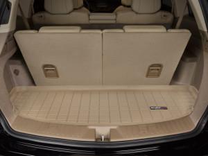 Acura MDX 2007-2013 - Коврик резиновый в багажник, 7 мест, бежевый. (WeatherTech) фото, цена