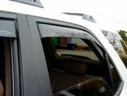 Acura MDX 2001-2006 - Дефлекторы окон (ветровики), задние, темные. (WeatherTech) фото, цена