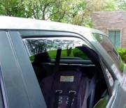 Acura MDX 2001-2006 - Дефлекторы окон (ветровики), задние, светлые. (WeatherTech) фото, цена