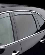 Acura MDX 2007-2013 - Дефлекторы окон (ветровики), задние, светлые. (WeatherTech) фото, цена