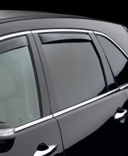Acura MDX 2007-2013 - Дефлекторы окон (ветровики), задние, темные. (WeatherTech) фото, цена