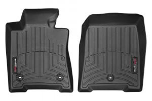 Acura TL 2009-2014 - Коврики резиновые с бортиком, передние, черные. (WeatherTech) фото, цена