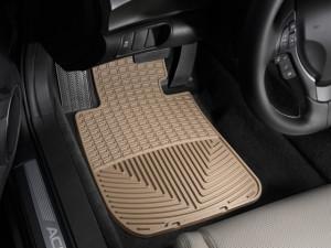 Acura TL 2009-2010 - Коврики резиновые, передние, бежевые. (WeatherTech) фото, цена