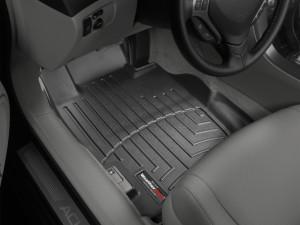 Acura TL 2004-2008 - Коврики резиновые с бортиком, передние, черные. (WeatherTech) фото, цена