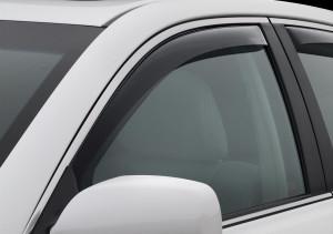 Acura TL 2009-2014 - Дефлекторы окон (ветровики), передние, темные. (WeatherTech) фото, цена