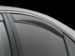 Acura TL 2009-2014 - Дефлекторы окон (ветровики), задние, светлые. (WeatherTech) фото, цена