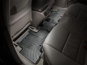 Acura ZDX 2010-2013 - Коврики резиновые с бортиком, задние, черные. (WeatherTech) фото, цена