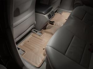 Acura ZDX 2010-2013 - Коврики резиновые с бортиком, задние, бежевые. (WeatherTech) фото, цена