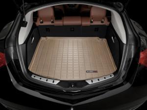 Acura ZDX 2010-2013 - Коврик резиновый в багажник, бежевый. (WeatherTech) фото, цена