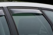 Audi A3 2006-2013 - Дефлекторы окон (ветровики), задние, светлые. (WeatherTech) фото, цена