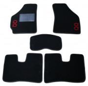 Chery QQ 2003-2014 - Коврики тканевые, черные, комплект 4 штуки. (CIAK)  фото, цена