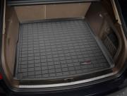 Audi A4 2009-2013 - (Avant) Коврик резиновый в багажник, черный. (WeatherTech) фото, цена