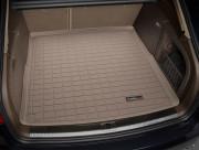 Audi A4 2009-2013 - (Avant) Коврик резиновый в багажник, бежевый. (WeatherTech) фото, цена