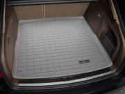 Audi A4 2009-2013 - (Avant) Коврик резиновый в багажник, серый. (WeatherTech) фото, цена