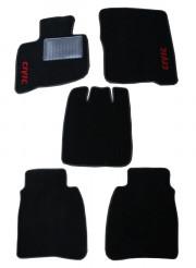 Honda Ridgeline 2006-2008 - Коврики тканевые, черные, комплект 4 штуки. (FORTUNA)  фото, цена